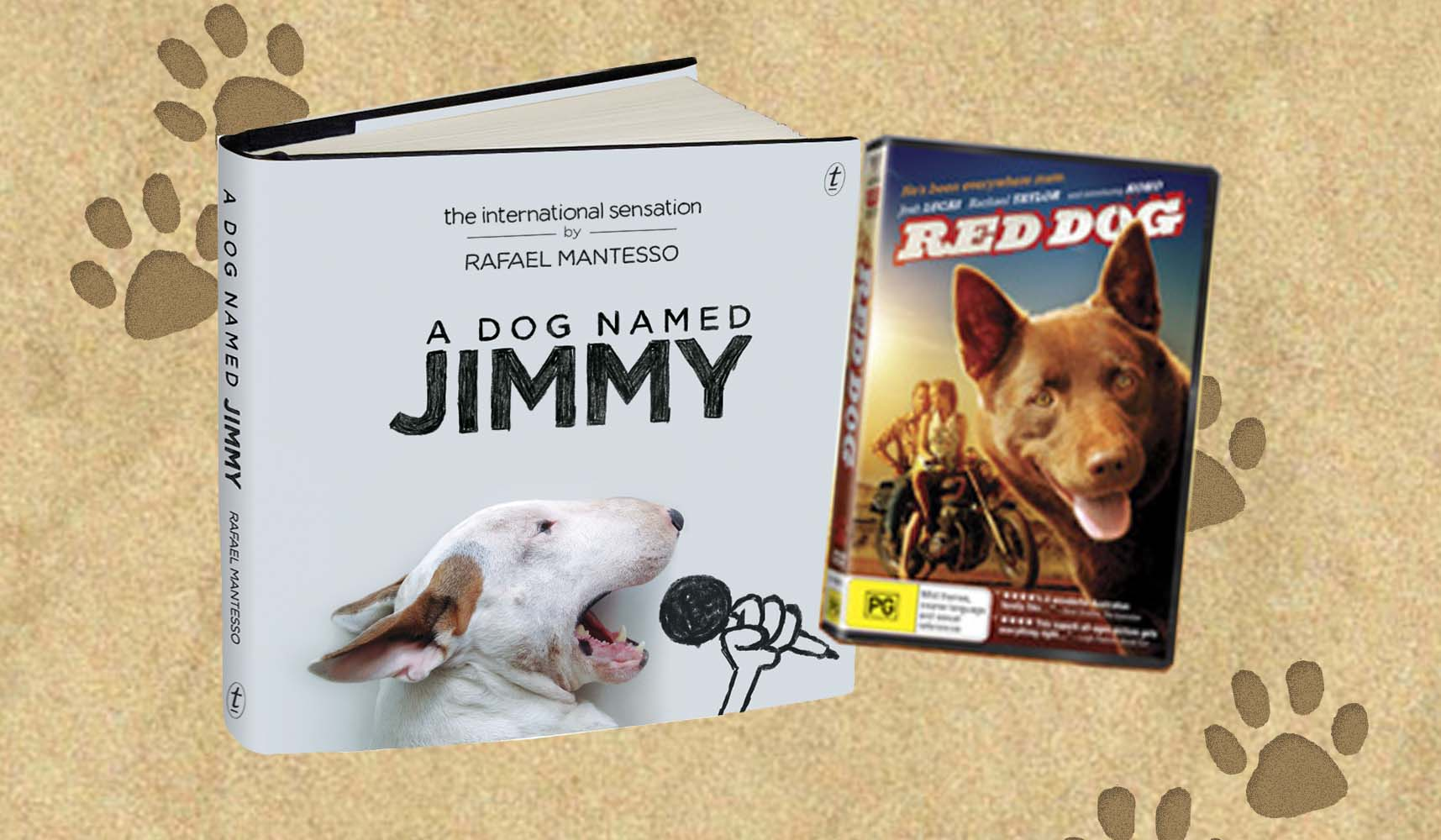 A Dog Named Jimmy/Red Dog Giveaway
