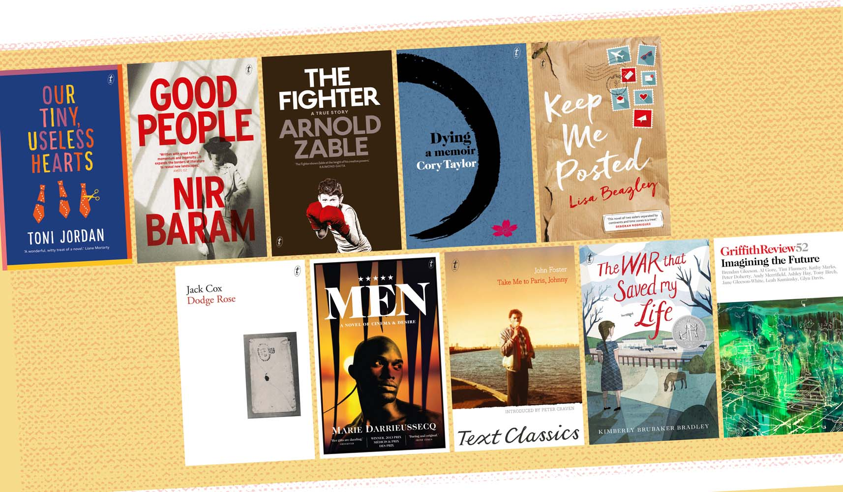 May 2016 New Releases for Text Publishing