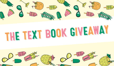 Text's New Books in December Giveaway