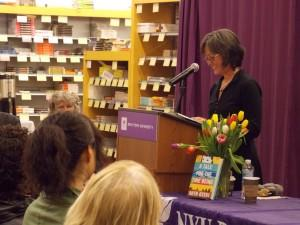 Ruth Ozeki launches A Tale for the Time Being at NYU Bookstore