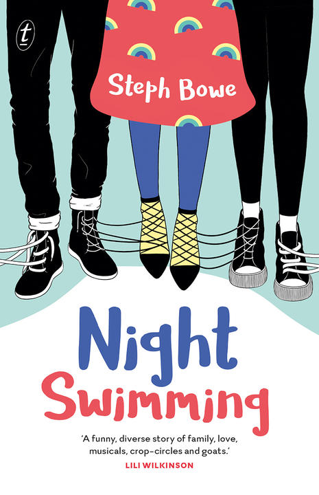 Book Cover for Night Swimming by Steph Bowe