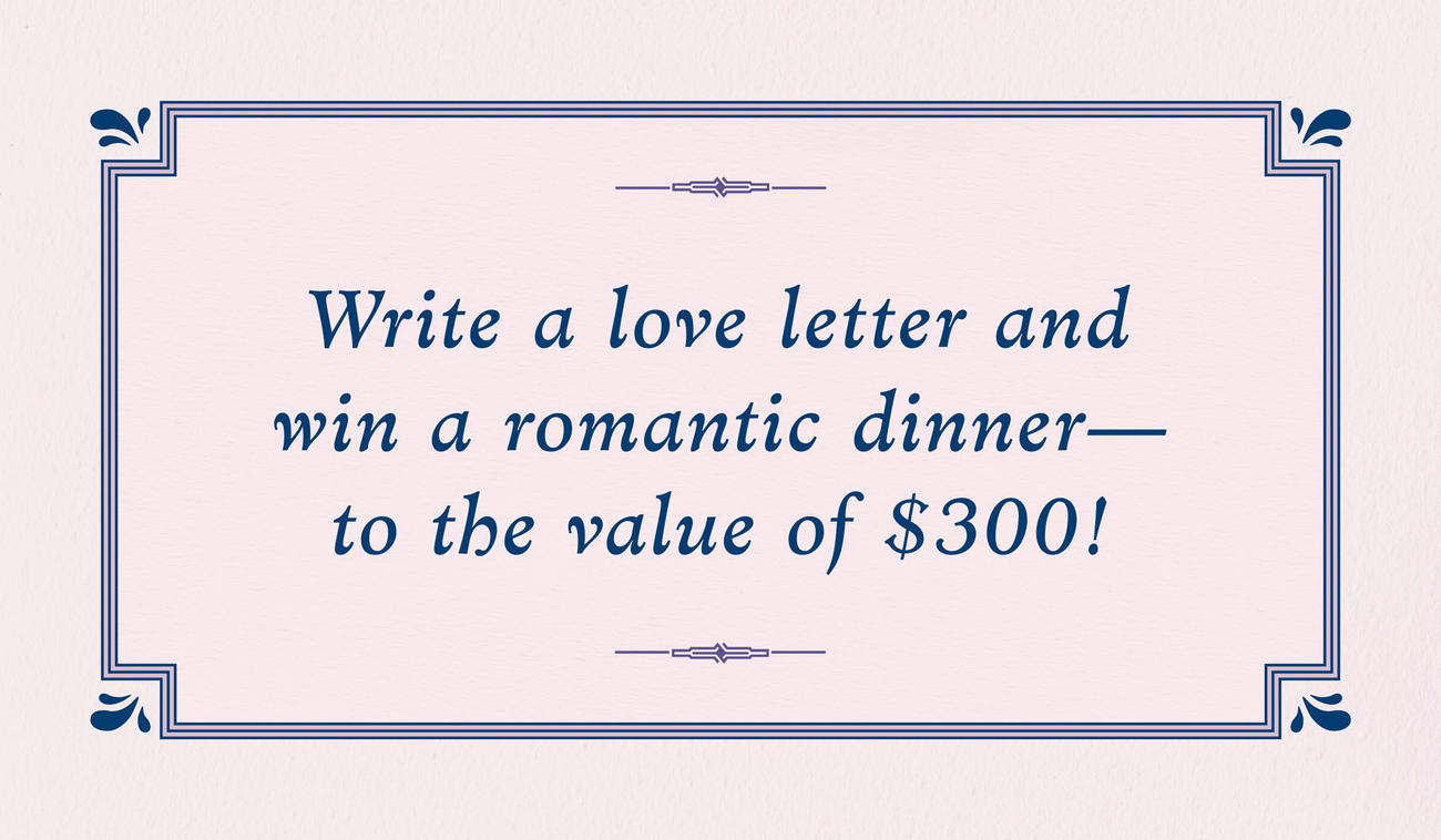 February Love-letter Competition