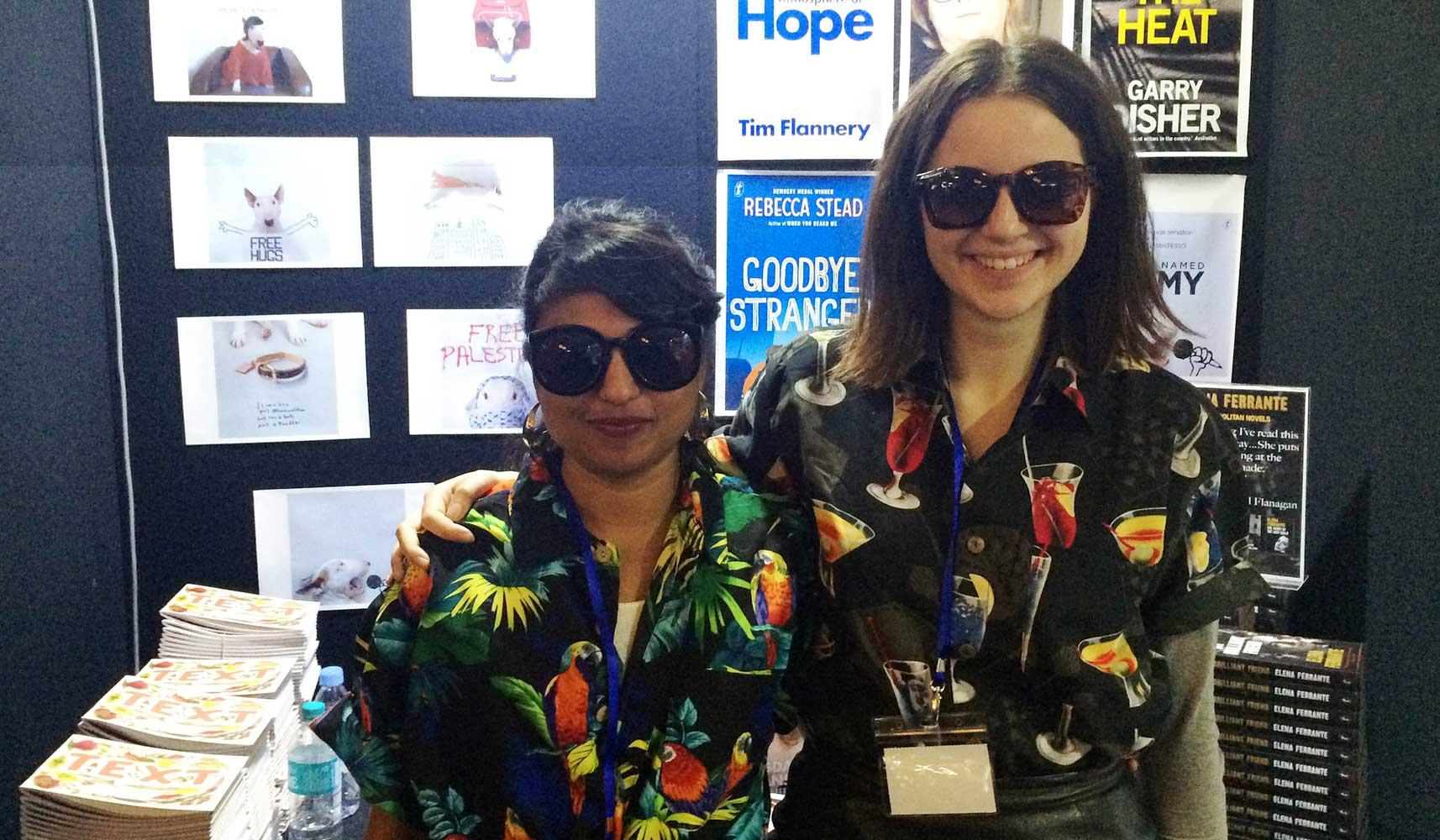 Shalini Kunahlan and Alice Lewinsky