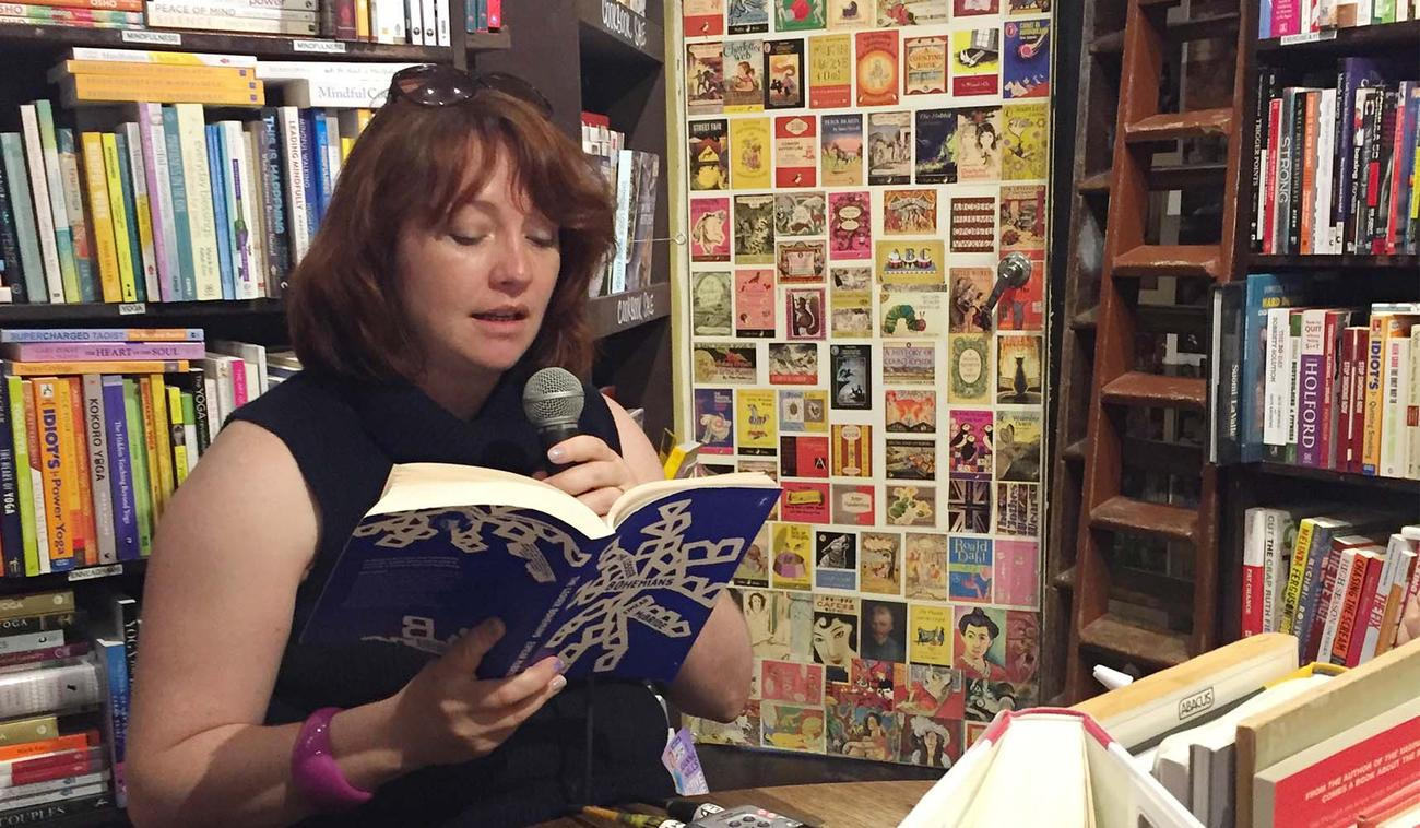 Eimear McBride reads from her new novel, The Lesser Bohemians