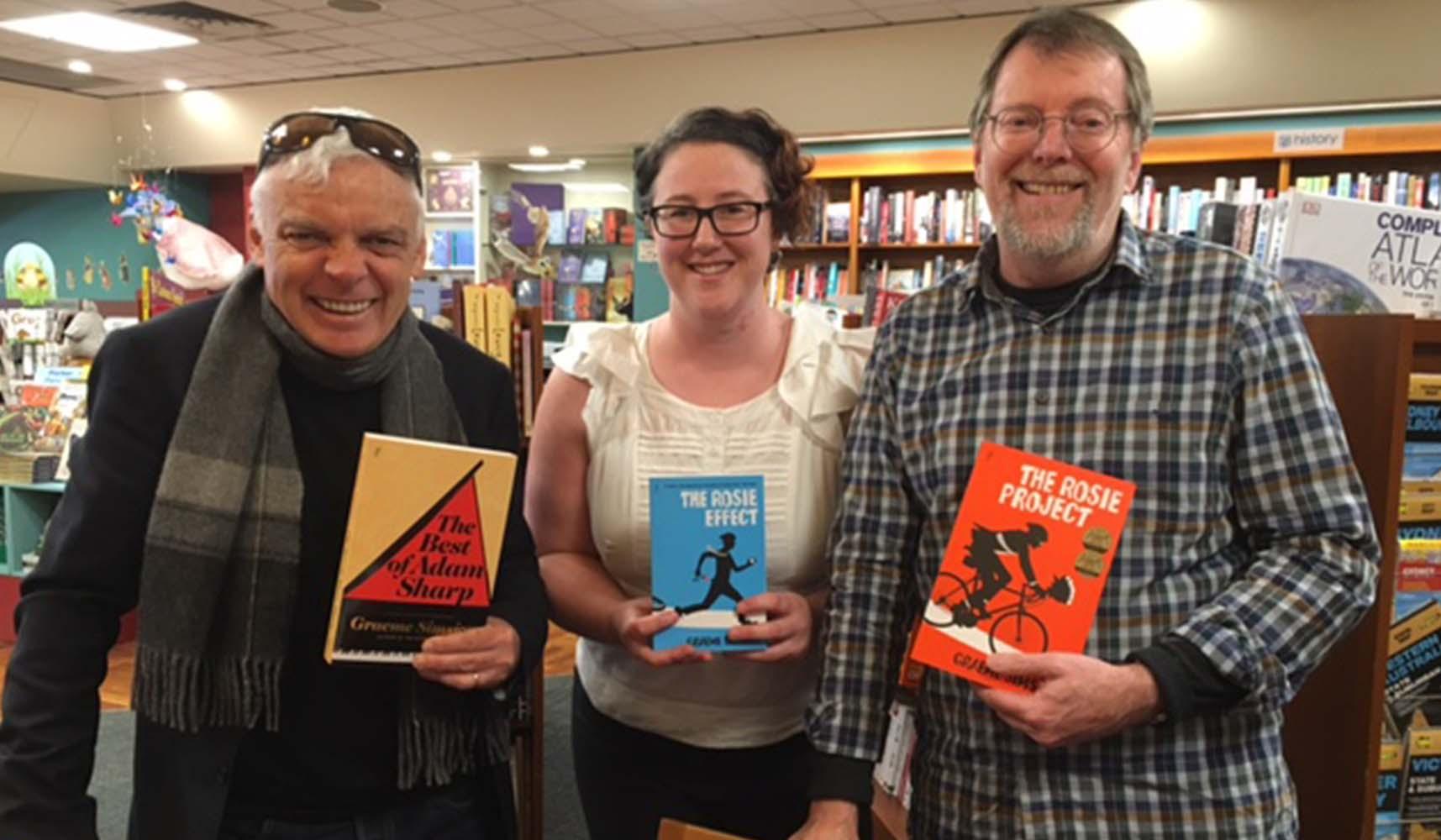 Graeme Simsion at Paperchain Bookstore