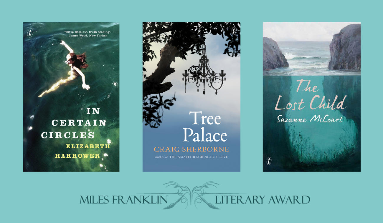 Text Authors on the Miles Franklin Literary Award longlist, 2015