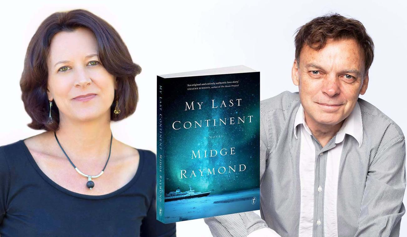 Midge Raymond and Graeme Simsion