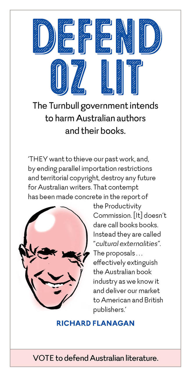 Richard Flanagan defending Australian literature