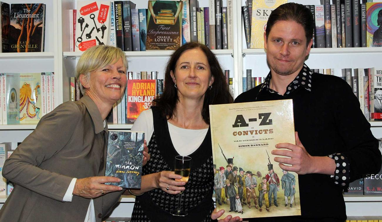 Diana Sweeney, Jane Pearson and Simon Barnard
