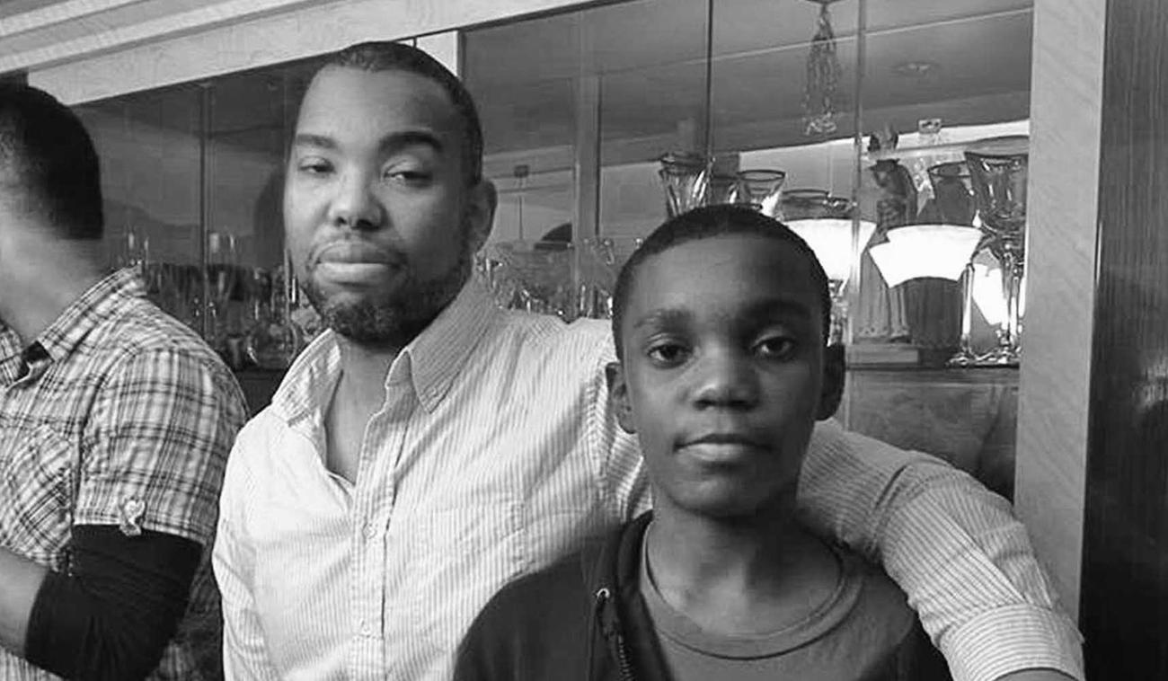 Ta-Nehisi Coates and his son, Samori.