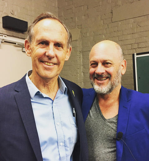 Bob Brown and Tim Flannery