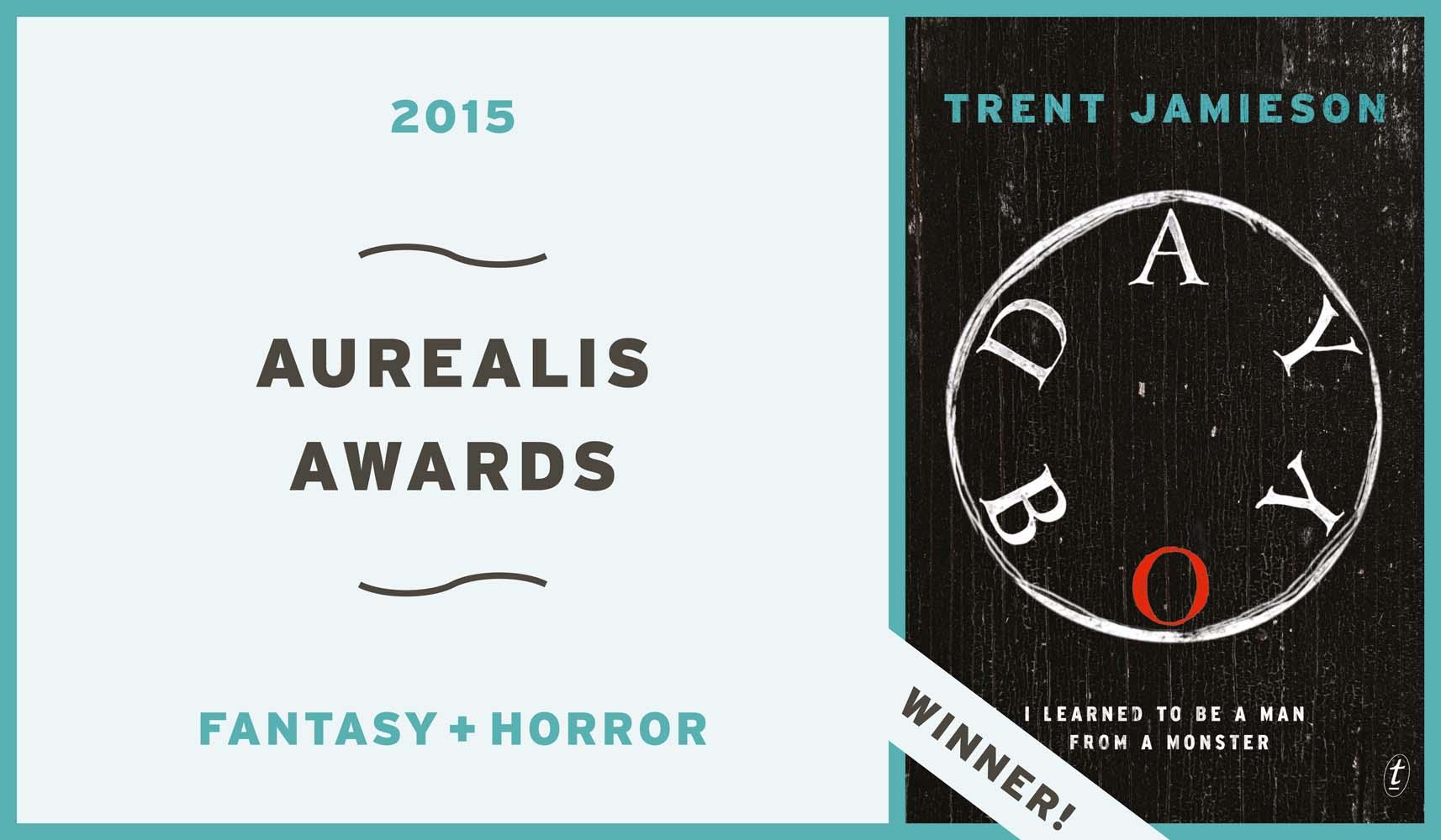 Day Boy wins Aurealis Awards banner