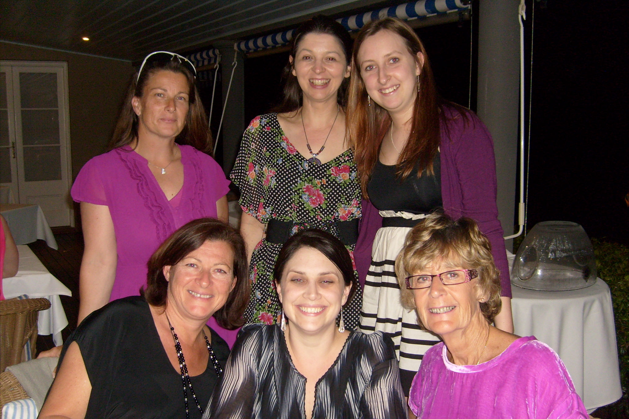 Mandi (top centre) and the hardworking booksellers of Book Bazaar Umina Beach and the All Good Bookstore in Gosford.