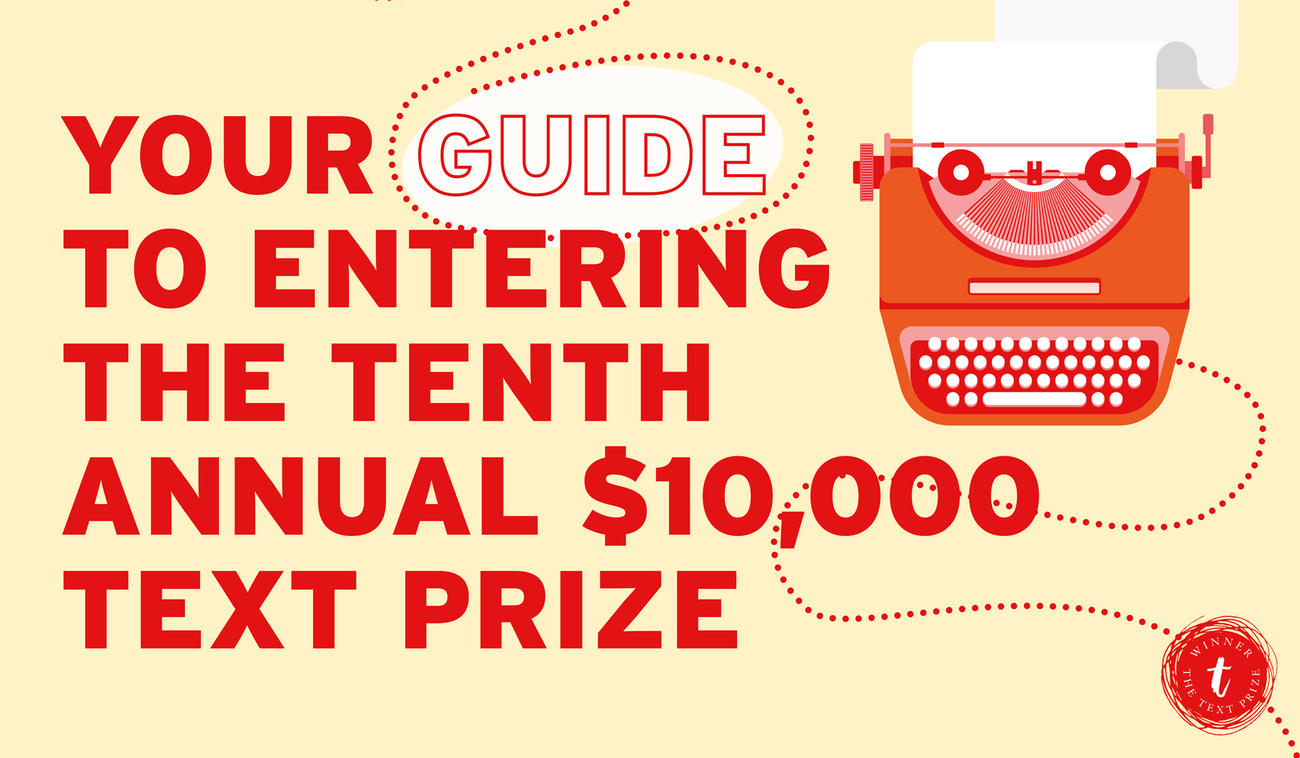 Get your pens and laptops out, the 2017 Text Prize is coming! It's our 10th Anniversary!