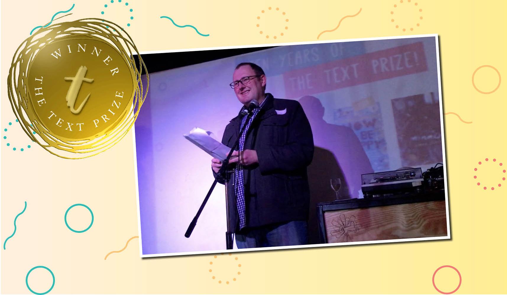 Adam Cece Winner of the 2017 Text Prize