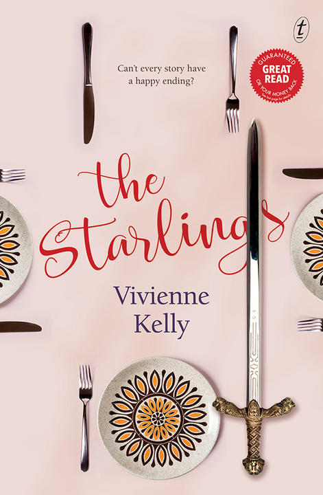 Book cover of The Starlings by Vivienne Kelly