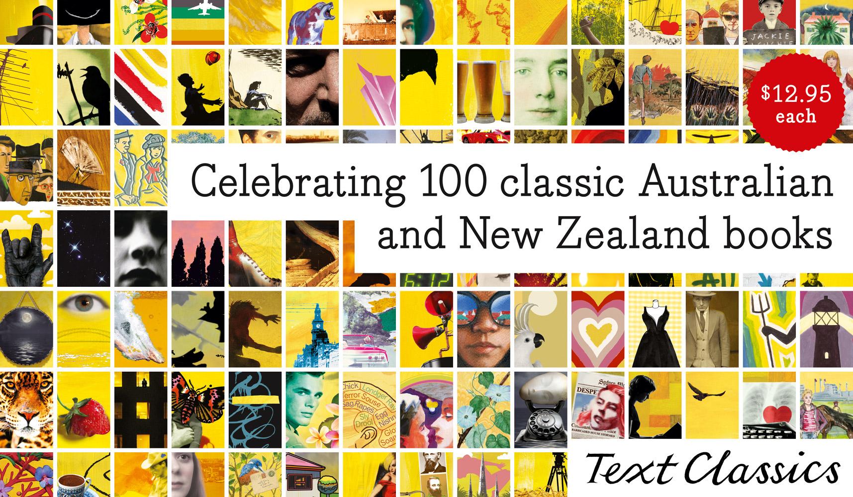Celebrating 100 Text Classics banner